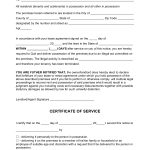 Blank Notice to Quit - Illegal Activity Form
