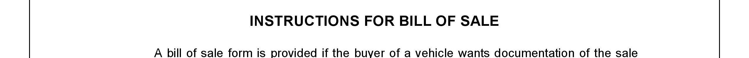 Iowa Bill of Sale