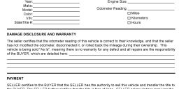 bill of sale generic form