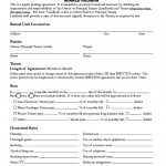 Santa Cruz County ,California Room Rental Agreement
